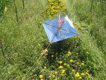 Das unbeschädigte Radartarget